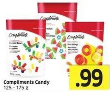Compliments Candy 125-175 g