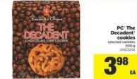 PC The Decadent Cookies - 500 g