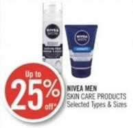 Nivea Men Skin Care Products