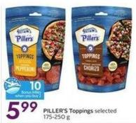 Piller's Toppings - 10 Air Miles Bonus Miles