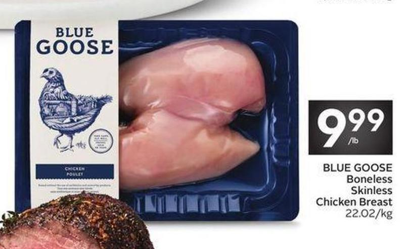 Blue Goose Boneless Skinless Chicken Breast