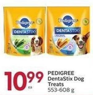 Pedigree Dentastix Dog Treats 553-608 g
