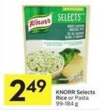 Knorr Selects Rice or Pasta 99 - 184 g