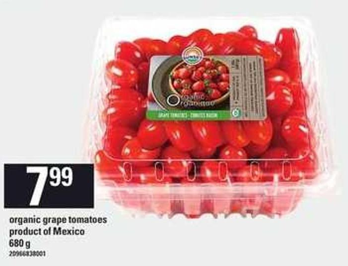 Organic Grape Tomatoes - 680 g