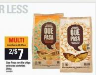 Que Pasa Tortilla Chips - 350 G