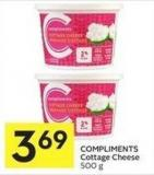 Compliments Cottage Cheese 500 g