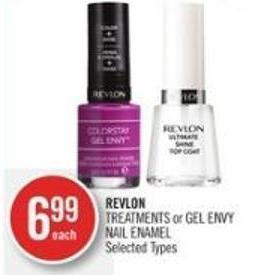 Revlon Treatments or Gel Envy Nail Enamel