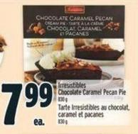 Irresistibles Chocolate Caramel Pecan Pie 830 g