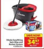 Vileda Easy Wring Spin Mop and Bucket System