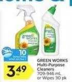 Green Works Multi-purpose Cleaners - 10 Air Miles Bonus Miles