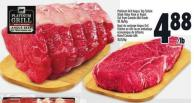 Platinum Grill Angus Top Sirloin Steak Value Pack Or Roast Cut From Canada Aaa Grade