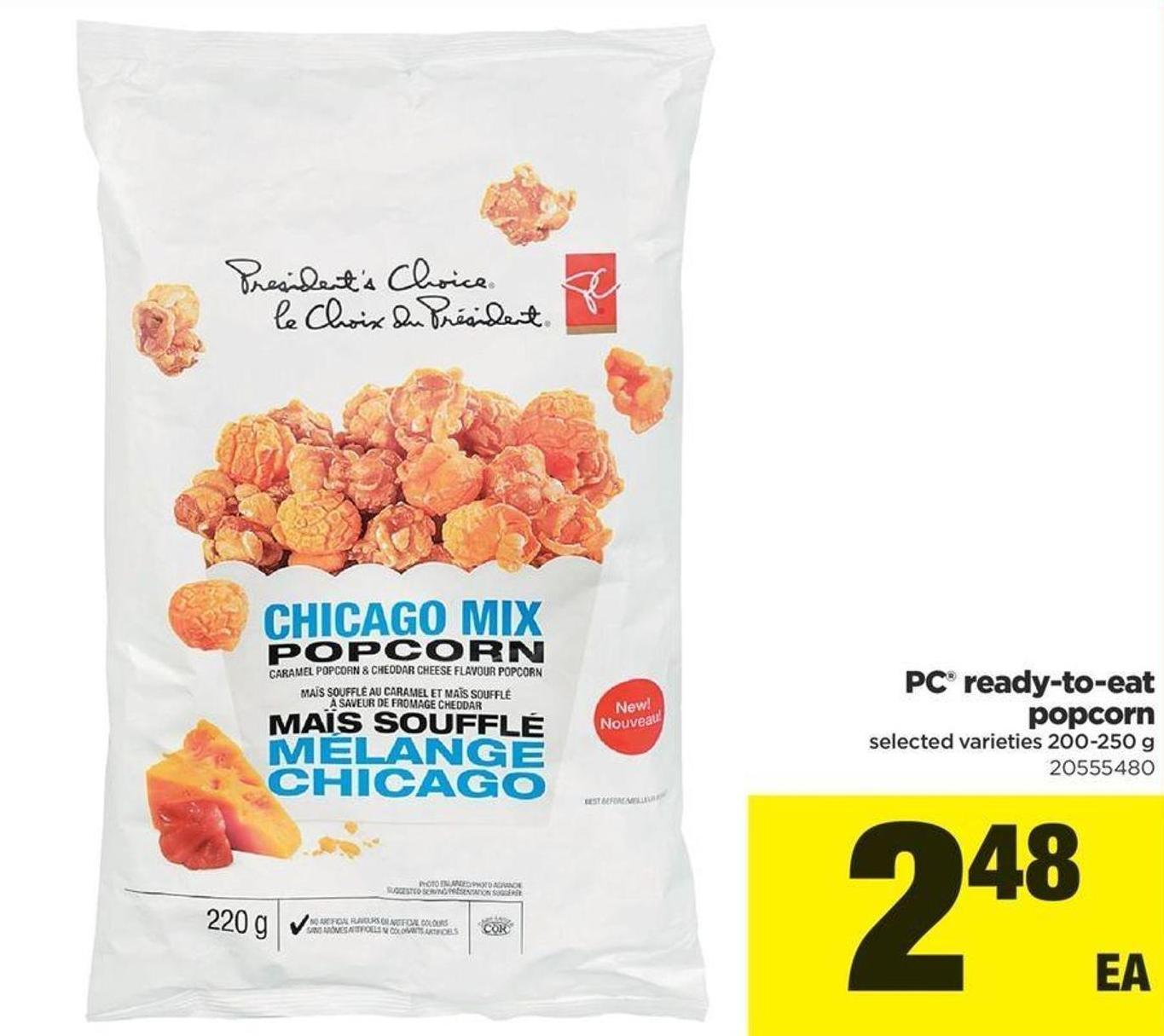 PC Ready-to-eat Popcorn - 200-250 G