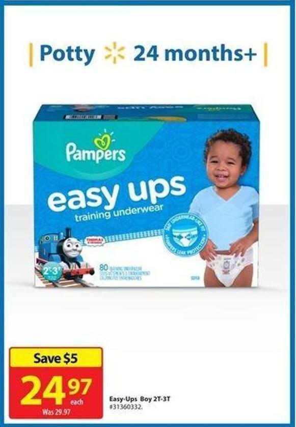 Pampers Easy-ups Boy 2t-3t