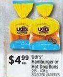 Udi's Hamburger Or Hot Dog Buns 295 – 408 g
