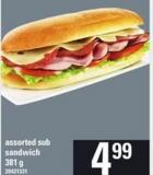 Assorted Sub Sandwich - 381 G