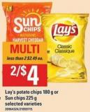 Lay's Potato Chips - 180 G Or Sun Chips - 225 G