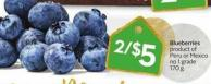 Blueberries Product of Peru or Mexico No 1 Grade 170 g