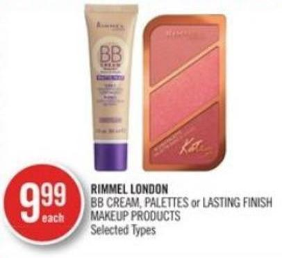 Rimmel London Bb Cream - Palettes or Lasting Finish Makeup Products