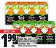 Minute Maid Juice 8 X 200 ml