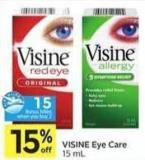 Visine Eye Care - 15 Air Miles Bonus Miles