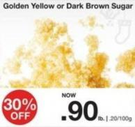 Golden Yellow or Dark Brown Sugar