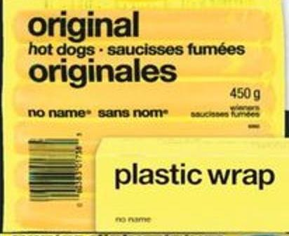 No Name Wieners Original - 450 G