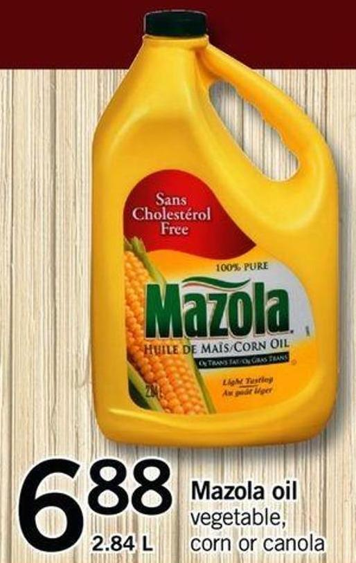Mazola Oil Vegetable - Corn Or Canola