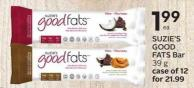 Suzie's Good Fats Bar