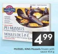 Mussel King Mussels