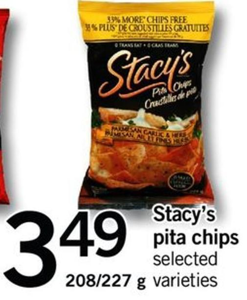 Stacy's Pita Chips  - 208/227 G