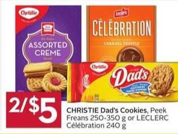Christie Dad's Cookies