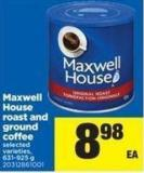 Maxwell House Roast And Ground Coffee - 631-925 G