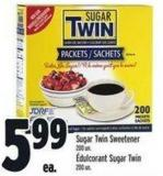 Sugar Twin Sweetener 200 Un.