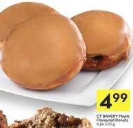 Ct Bakery Maple Flavoured Donuts