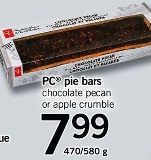 PC Pie Bars