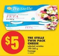 Tre Stelle Twin Pack Cheese - 190-560 g