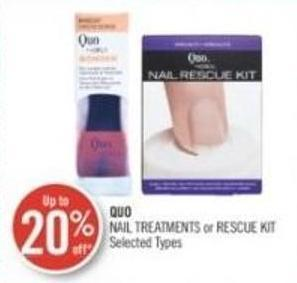 Quo Nail Treatments or Rescue Kit