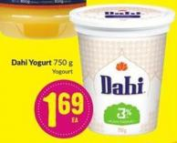 Dahi Yogurt 750 g