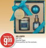 Air & Water Gift Set