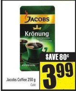 Jacobs Coffee 250 g