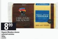 Organic Meadow Cheese - 340 g