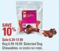 Selected Dog Chewables