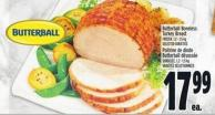 Butterball Boneless Turkey Breast Frozen - 1.2 - 1.5 Kg
