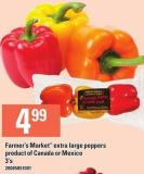 Farmer's Market Extra Large Peppers 3's