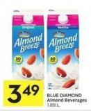 Blue Diamond Almond Beverages 1.89 L