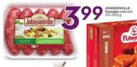 Johnsonville Sausages Selected 375-500 g
