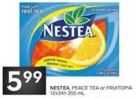Nestea - Peace Tea or Fruitopia