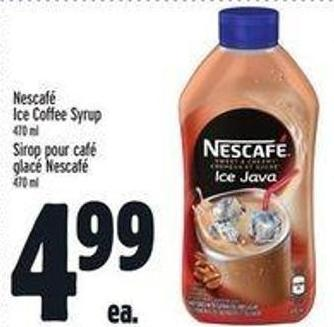 Nescafé Ice Coffee Syrup
