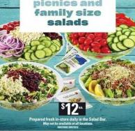 Picnics And Family Size Salads