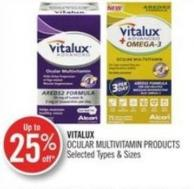 Vitalux Ocular Multivitamin Products